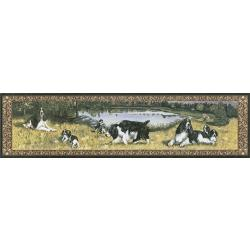 English Springer Table Runner