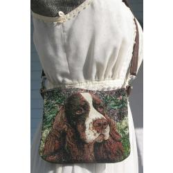 english springer pocket purse 1a