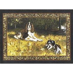 English Springer Tapestry Placemat #2 Single