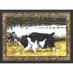 English Springer Tapestry Placemat #3 Single