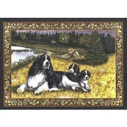 English Springer Tapestry Placemat #4 Single