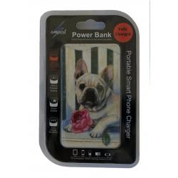 French bulldog #6 power bank package