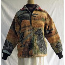 Flat-Coated Retriever Short Coat 1B