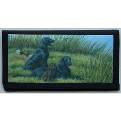 Flat-Coated Retriever Picture Checkbook #3