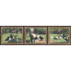 French Bulldog Tapestry Table Runner