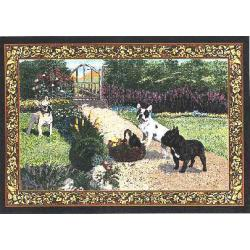 French Bulldog Tapestry Placemat #3 Single