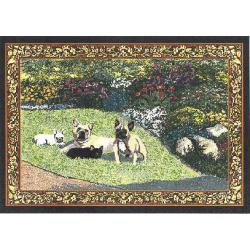 French Bulldog Tapestry Placemat #4 Single
