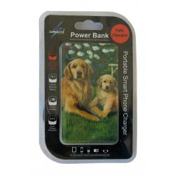 golden retriever power bank package