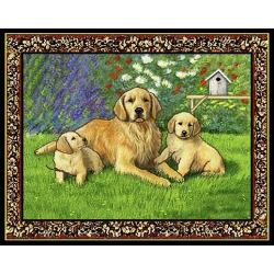 Golden Retriever Tapestry Placemat #1 Single