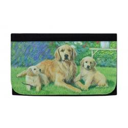 Golden retriever wallet 1