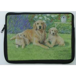 Golden Retriever Picture Netbook Sleeve #1