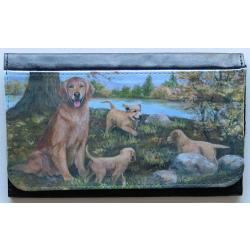 Golden Retriever Picture Wallet #3