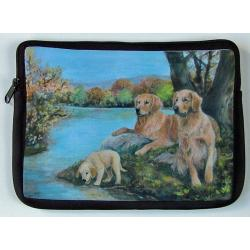 Golden Retriever Picture Netbook Sleeve #4