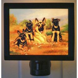 German Shepherd Picture Nightlight #3