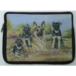 German Shepherd Picture Netbook Sleeve #3