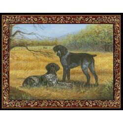 German Shorthair 1 Single Tapestry Placemat