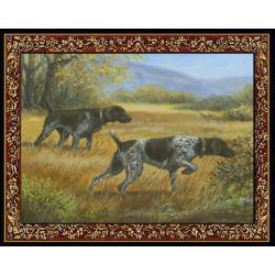 German Shorthair 2 Single Tapestry Placemat