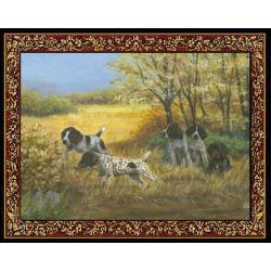 German Shorthair 3 Single Tapestry Placemat