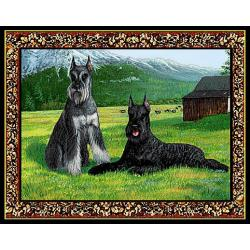 Giant Schnauzer 1 Single  Tapestry Placemat