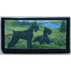 Giant Schnauzer Picture Checkbook #2
