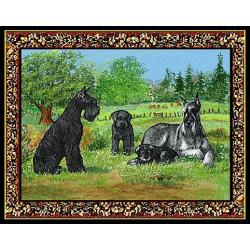 Giant Schnauzer 3 Single Tapestry Placemat