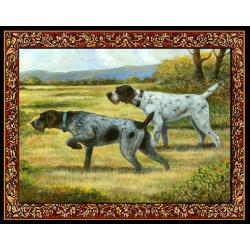 German Wirehaired Pointer Tapestry Placemat #1 Single
