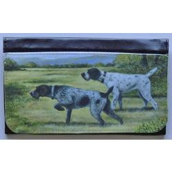 German Wirehaired Pointer Picture Wallet #1