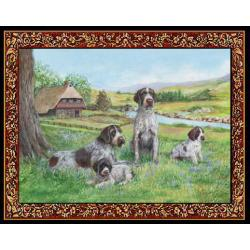 German Wirehaired Pointer Tapestry Placemat #2 Single