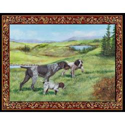 German Wirehaired Pointer Tapestry Placemat #3 Single
