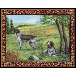 German Wirehaired Pointer Tapestry Placemat #4 Single