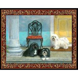 Havanese 3 Single Tapestry Placemat