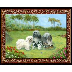 Havanese 4 Single Tapastry Placemat