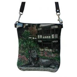 Irish wolfhound pocket purse bpb