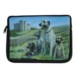 Irish Wolfhound netbook sleeve 1