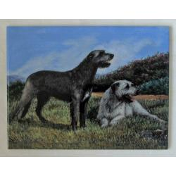 Irish wolfhound tile 2