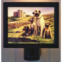 Irish Wolfhound Picture Nightlight #1