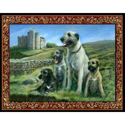 Irish Wolfhound 1 Single Tapestry Placemat