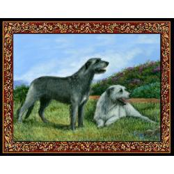 Irish Wolfhound 2 Single Tapestry Placemat
