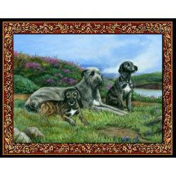Irish Wolfhound 3 Single Tapestry Placemat