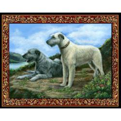 Irish Wolfhound 4 Single Tapestry Placemat
