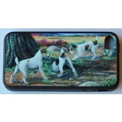 Jack Russell Picture iPhone-4 Cover #1
