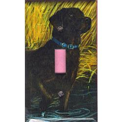 Labrador Retriever Picture Single Light Switch Plate #1B