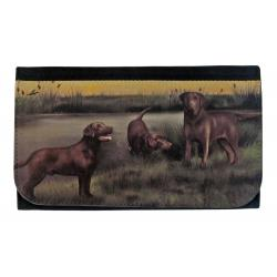 chocolate lab wallet 2