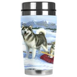 Malamute travel mug