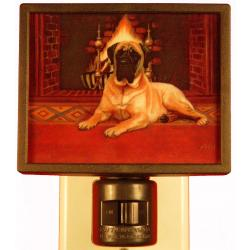 English Mastiff Picture Nightlight #1