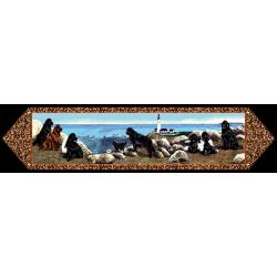 Newfoundland Tapestry Table Runner