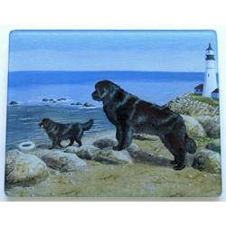 Newfoundland 4 Tempered Glass Cutting Board