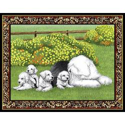 Old English Sheepdog Single Tapestry Placemat #1