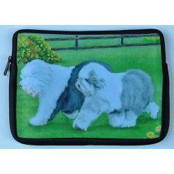 Old English Sheepdog Picture Netbook Sleeve #2