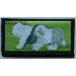 Old English Sheepdog Picture Checkbook #2
